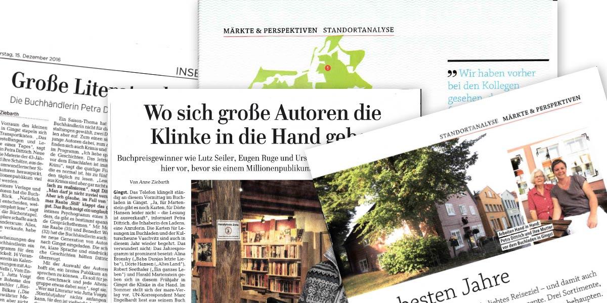 Der Buchladen Rügen in der Presse